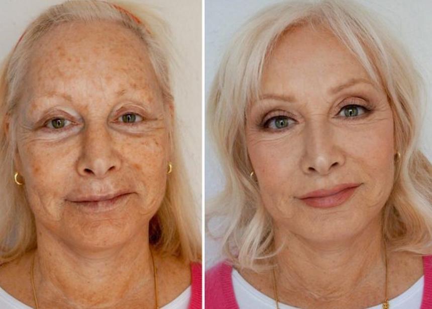 Αυτή η makeup artist έκανε τη μαμά της να μοιάζει 10 χρόνια νεότερη!