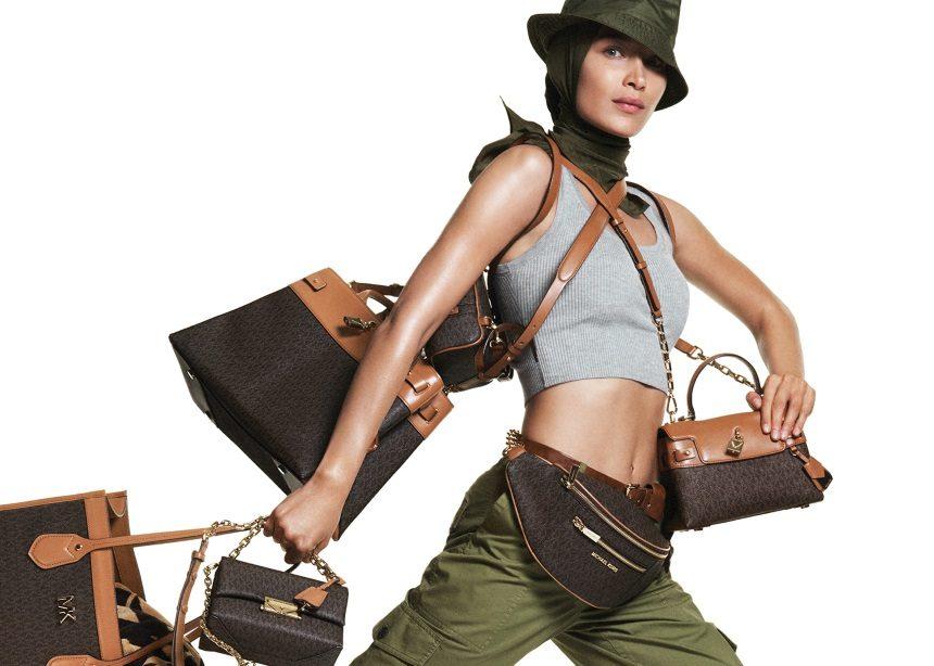 Μichael Kors: Η Bella Hadid πρωταγωνιστεί στη νέα καμπάνια του σχεδιαστή με τα πιο όμορφα safari looks | tlife.gr