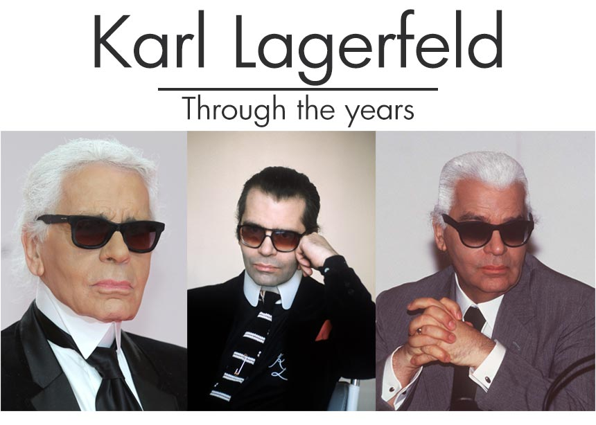 Karl Lagerfeld: η μεταμόρφωσή του μέσα από οκτώ φωτογραφίες και η σχέση του με την ομορφιά | tlife.gr