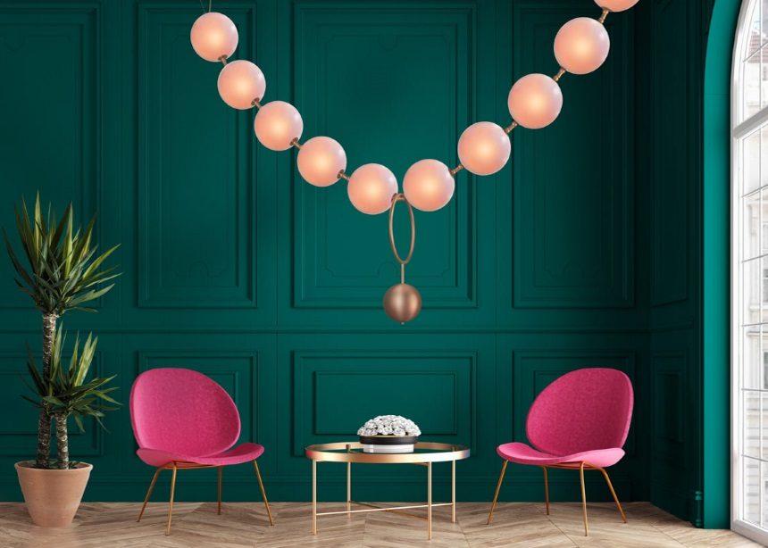 "Coco lighting: Αυτές οι φωτιστικές ""πέρλες"" είναι εμπνευσμένες από την Gabrielle Chanel   tlife.gr"