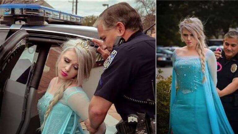 Σοκ! Συνέλαβαν την Έλσα από το Frozen για το πολικό ψύχος στις ΗΠΑ! [pics] | tlife.gr