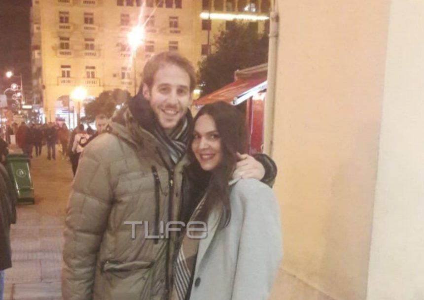 Ελεάνα Παπαϊωάννου: Βόλτα στο κέντρο της Θεσσαλονίκης μαζί με τον σύζυγο της! [pic]   tlife.gr