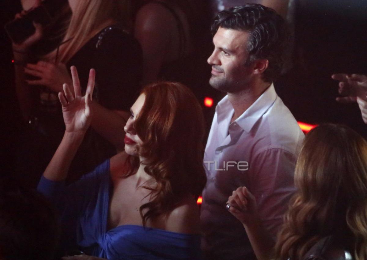 Έβελυν Καζαντζόγλου – Τζωρτζ Παπακώστας: Το νέο hot ζευγάρι της showbiz σε βραδινή του έξοδο! [pics]