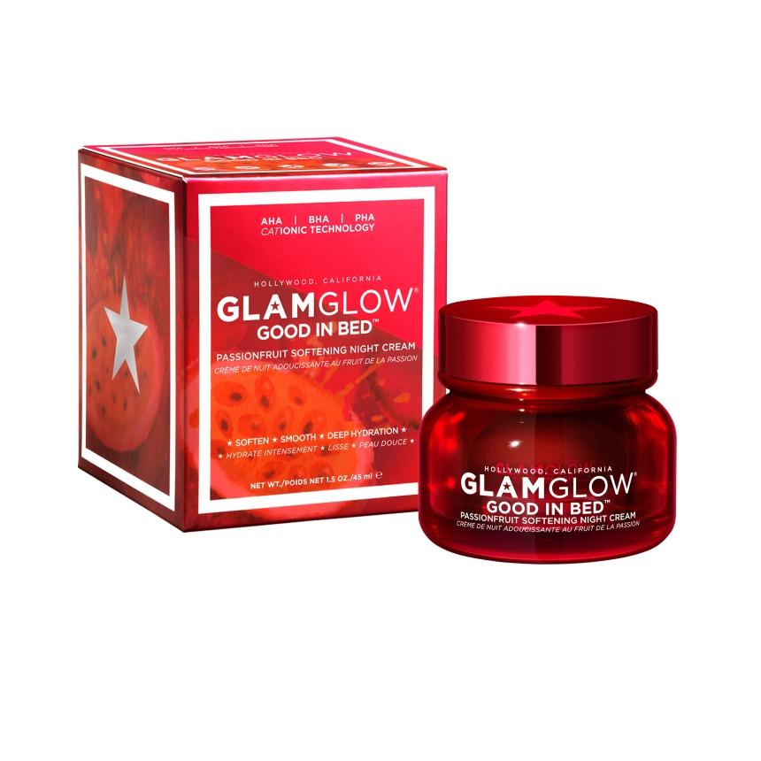 Ενυδατική κρέμα προσώπου Glam Glow Good in Bed | tlife.gr