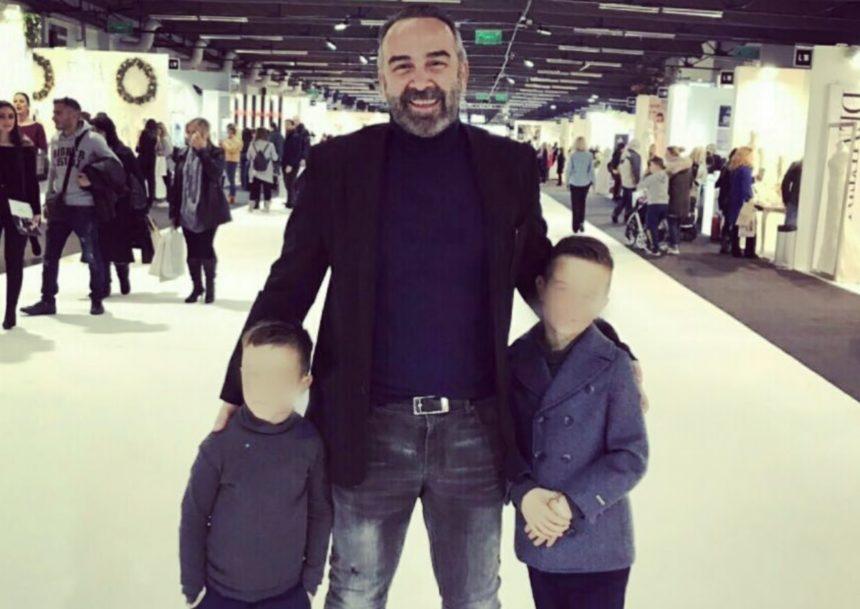 Γρηγόρης Γκουντάρας: Στο γήπεδο μαζί με τους γιους του! [pics] | tlife.gr