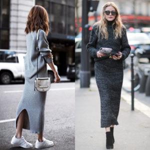 Head – to – toe knit: Το look που αγαπούν οι fashionistas
