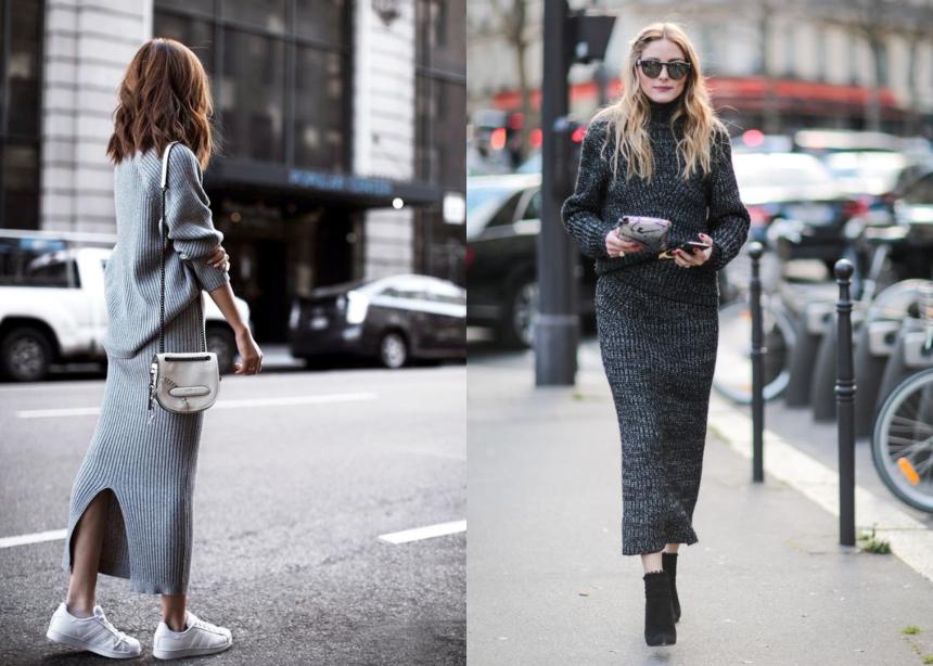 Οι fashionistas φορούν head-to-toe πλεκτά looks κι εμείς παίρνουμε ιδέες! | tlife.gr