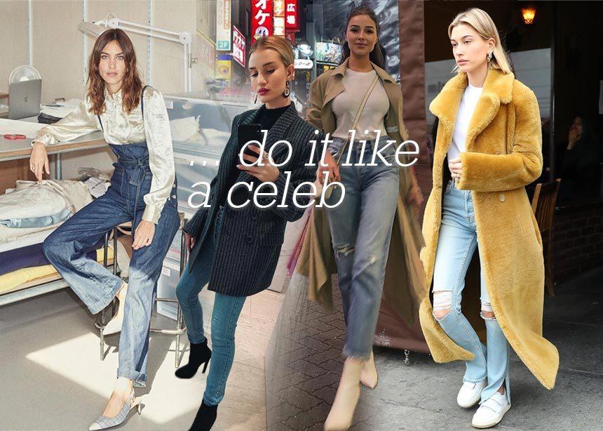Το τζιν είναι το αγαπημένο παντελόνι των σταρ! Πάρε ιδέες από τις εμφανίσεις τους και συνδύασέ το σαν fashion expert | tlife.gr