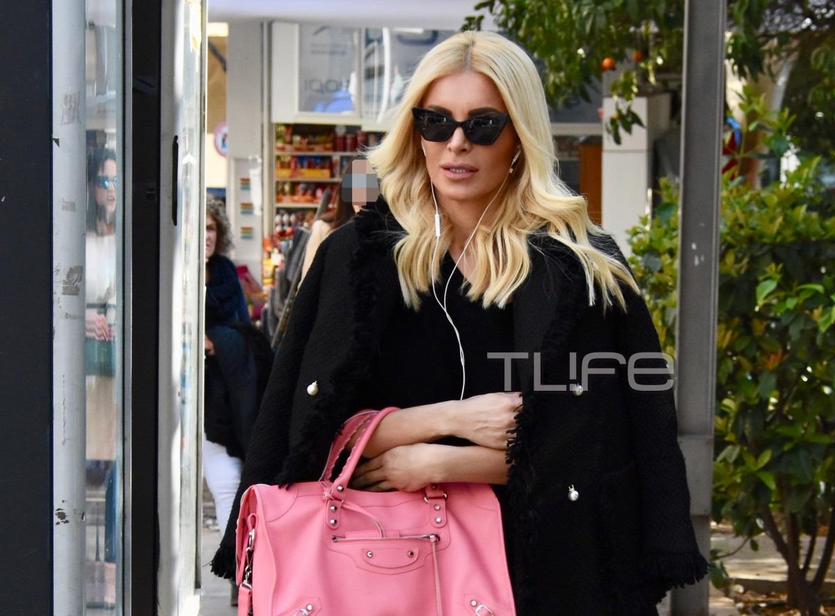 Κατερίνα Καινούργιου: Για ψώνια στο Κολωνάκι με casual chic στιλ! [pics] | tlife.gr