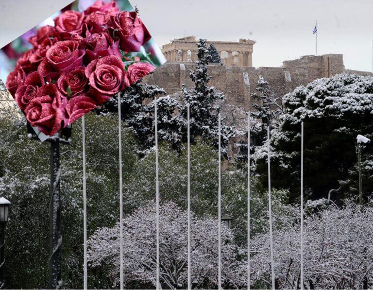 Καιρός: «Παγωμένος» Βαλεντίνος με χιόνια και στην Αττική   tlife.gr