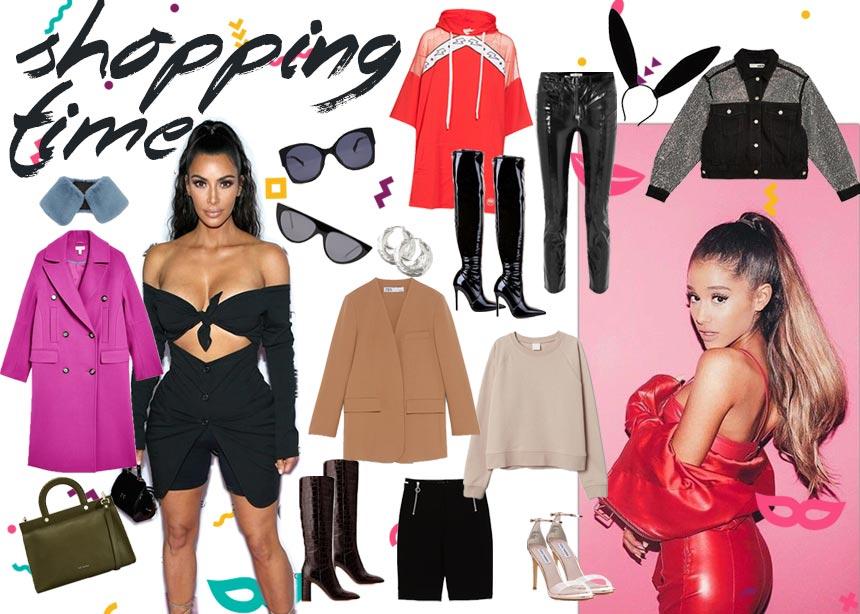 Kim Kardashian, Ariana Grande, Anna Wintour: Πως να ντυθείς με το signature στιλ τους φέτος τις απόκριες