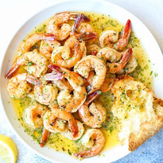 Γαρίδες σοτέ σε σάλτσα βουτύρου με σκόρδο | tlife.gr