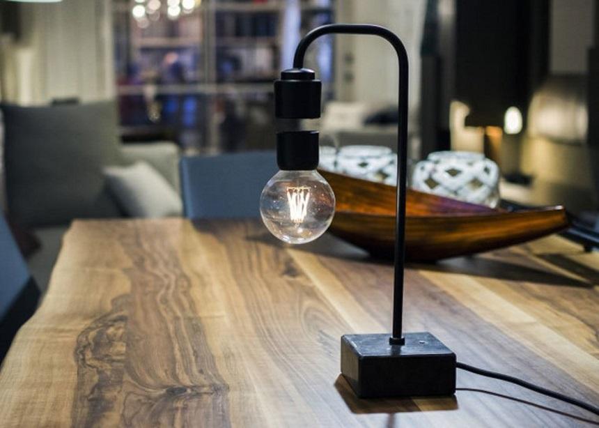 "Levia lamp: Το φωτιστικό που ""ακυρώνει"" τον νόμο της βαρύτητας | tlife.gr"