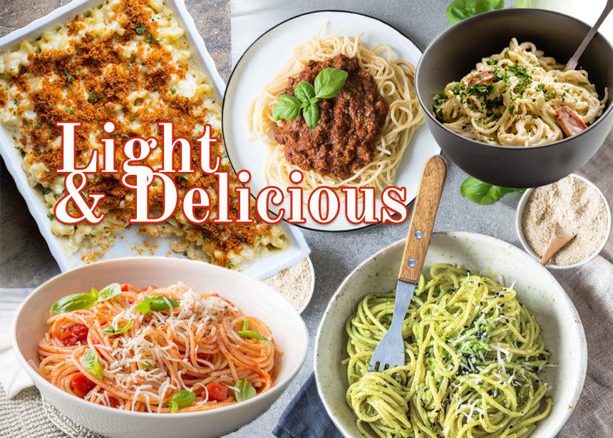 Συνταγές για δίαιτα: 5 κλασικές μακαρονάδες με πολύ λιγότερες θερμίδες   tlife.gr