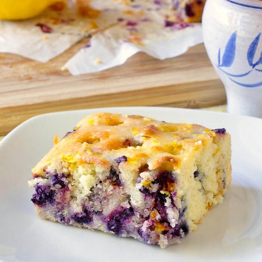 Γλυκιά πίτα με blueberries