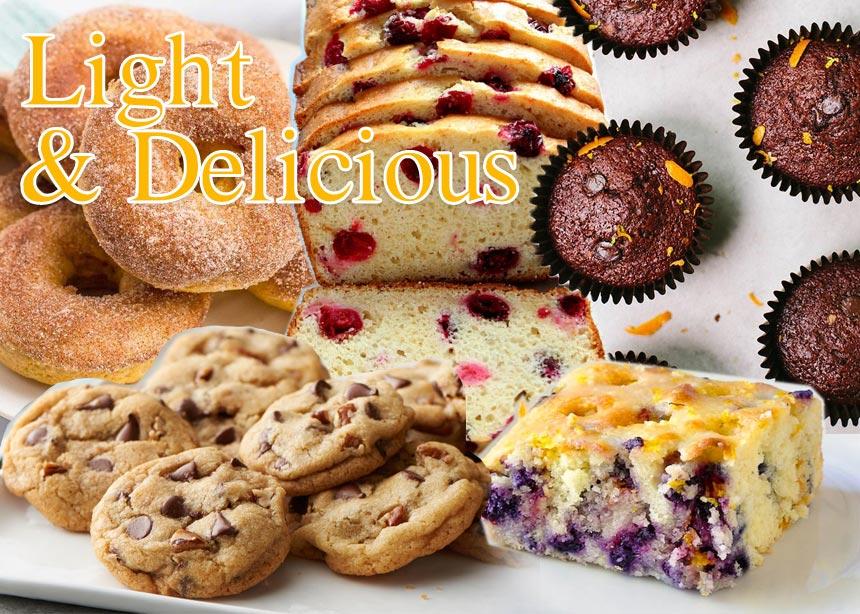 Light συνταγές: Κέικ, μπισκότα και πολλές ακόμα επιλογές για να συνοδεύσεις το ζεστό σου ρόφημα