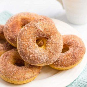 Ψητά donuts με κανέλα