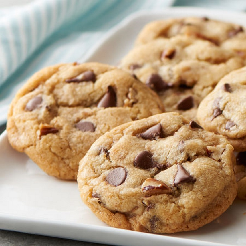 Μαλακά cookies με κομματάκια σοκολάτας