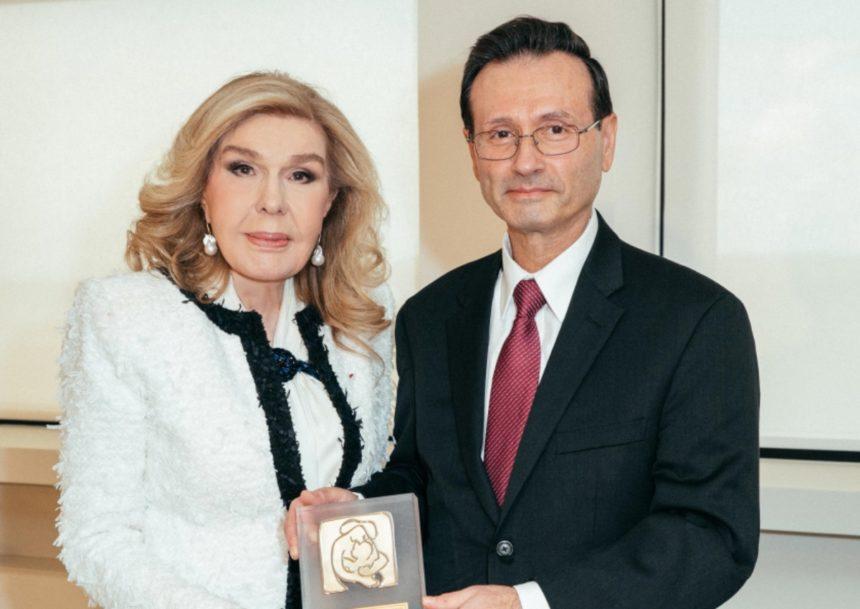 Συνάντηση της Μαριάννας Βαρδινογιάννη με τον George Sigounas! [pics] | tlife.gr