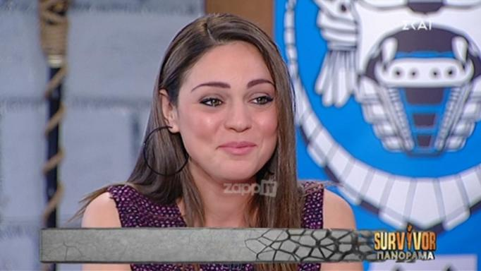 Survivor: Συγκινήθηκε η Μπάγια Αντωνοπούλου στον αέρα του Πανόραμα! | tlife.gr