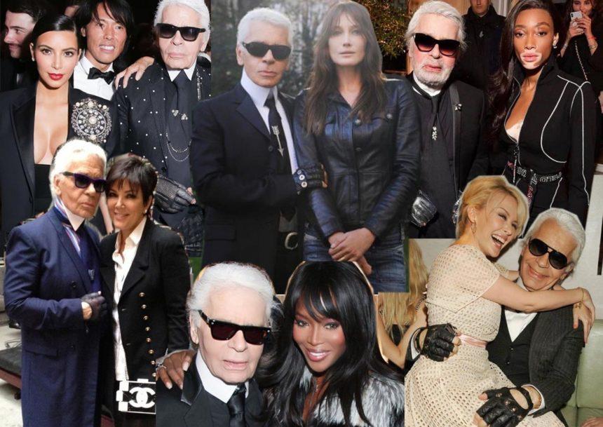 Οι celebrities του πλανήτη, αποχαιρετούν τον θρύλο Karl Lagerfeld! Τα συγκινητικά λόγια [pics] | tlife.gr