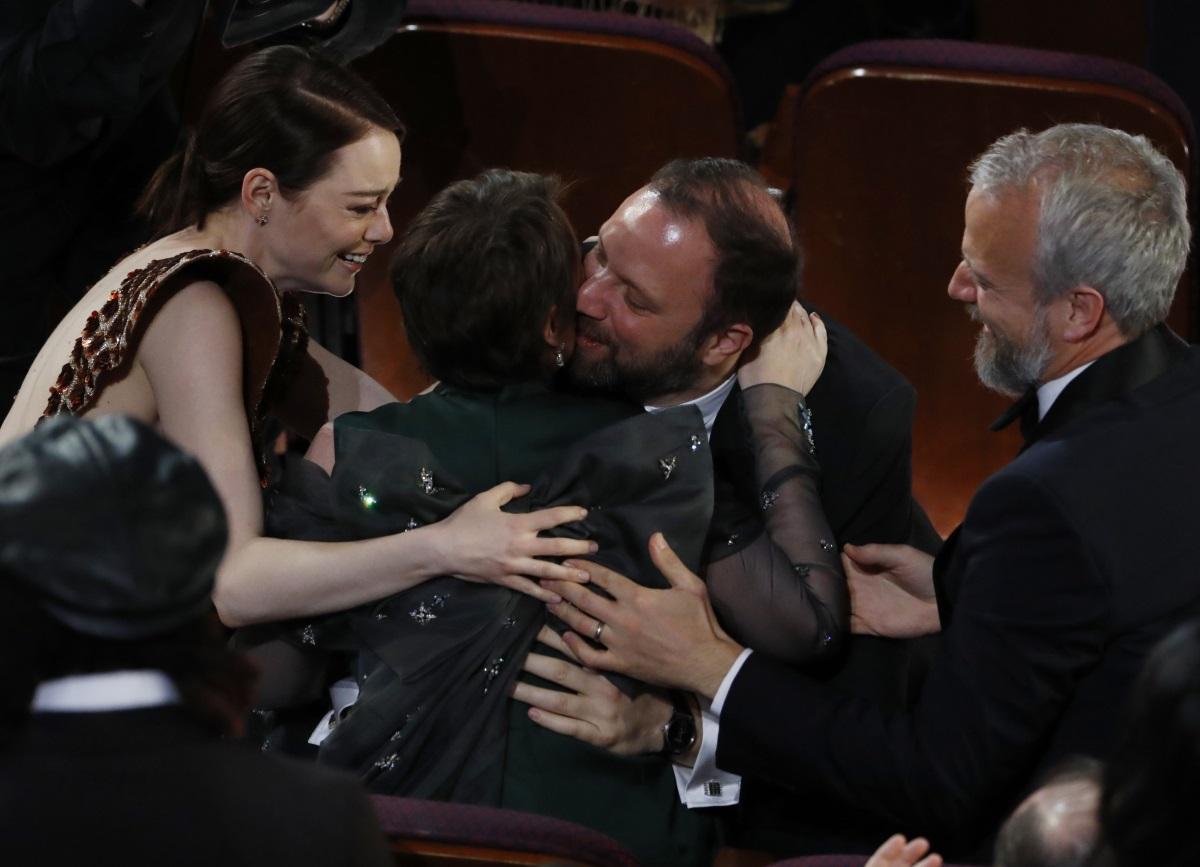 """Γιώργος Λάνθιμος: Ένα Όσκαρ για το """"The Favourite""""- Η Olivia Colman κέρδισε το βραβείο Ά Γυναικείου ρόλου!"""