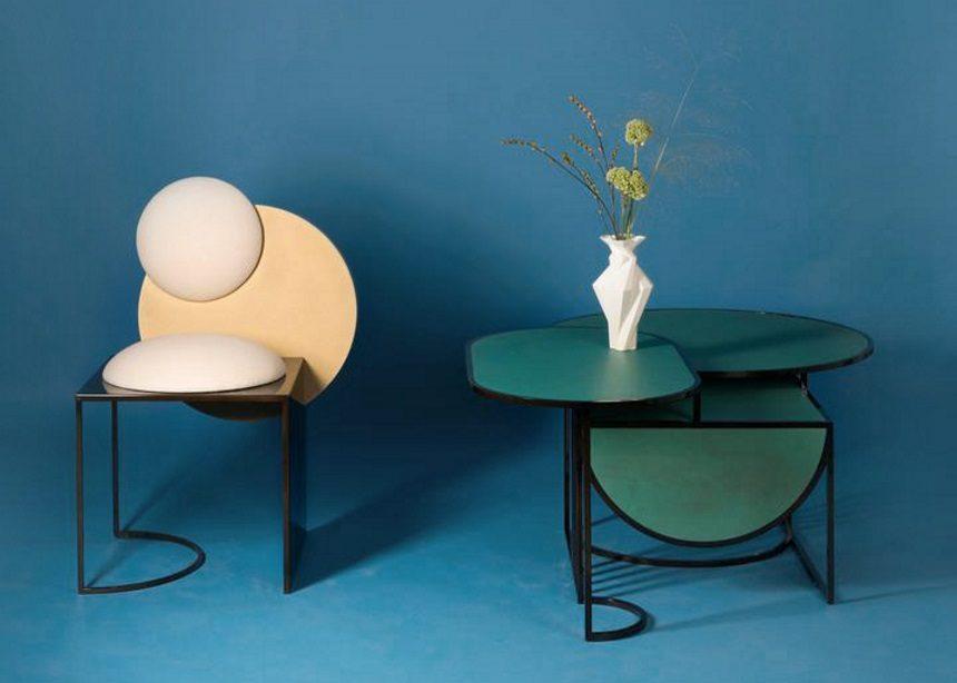 "Orbit tables: Τα τραπέζια που ""μιμούνται"" τις πλανητικές τροχιές στο πρωτοποριακό design τους | tlife.gr"