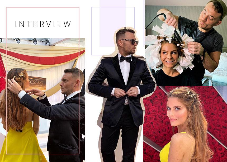 Αποκλειστική συνέντευξη με τον Δημήτρη Γιαννέτο! Όλες οι λεπτομέρειες για το οσκαρικό look της Maria Menounos! | tlife.gr