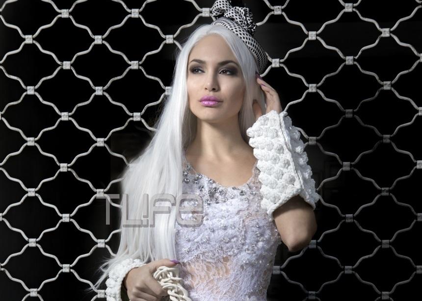 Αλεξάνδρα Παναγιώταρου: Αγνώριστη για editorial μόδας με δημιουργίες Celebrity Skin! Αποκλειστικές φωτογραφίες