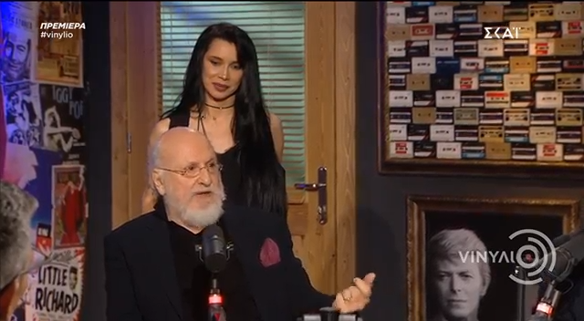Πάολα: Η on air έκπληξη στον Διονύση Σαββόπουλο στο «Βινύλιο»! video