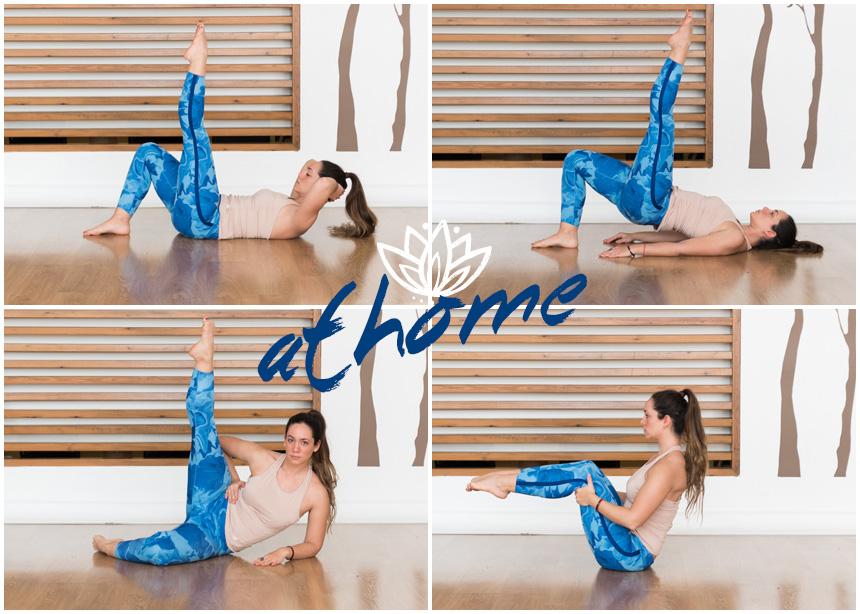 Γυμναστική στο σπίτι: 5 εύκολες ασκήσεις pilates για να χάσεις λίπος από κάθε σημείο του σώματος