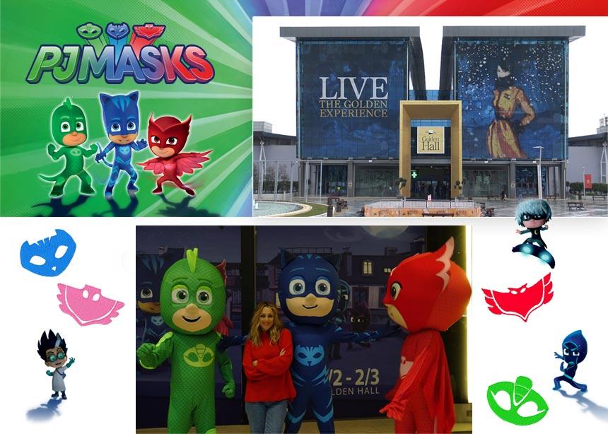 Οι Pj Masks σε περιμένουν στο Golden Hall! Time to be a hero!   tlife.gr
