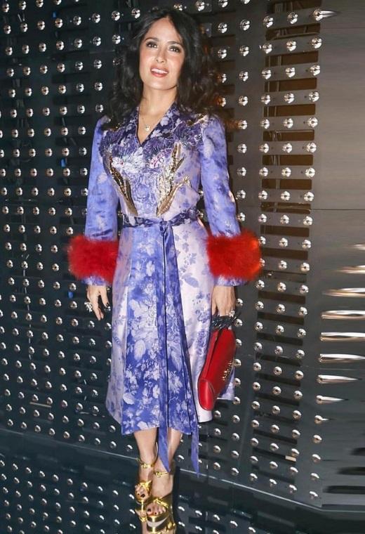 Η Salma Hayek με Gucci | tlife.gr