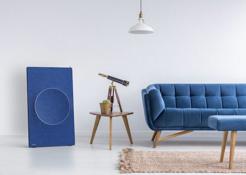 "Sheet Speaker: Το ""έξυπνο"" ηχείο του μέλλοντος έχει τον πιο στιλάτο σκανδιναβικό σχεδιασμό"