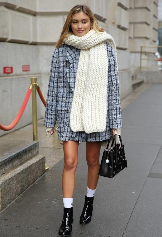 Νέα Υόρκη με καρό παλτό | tlife.gr