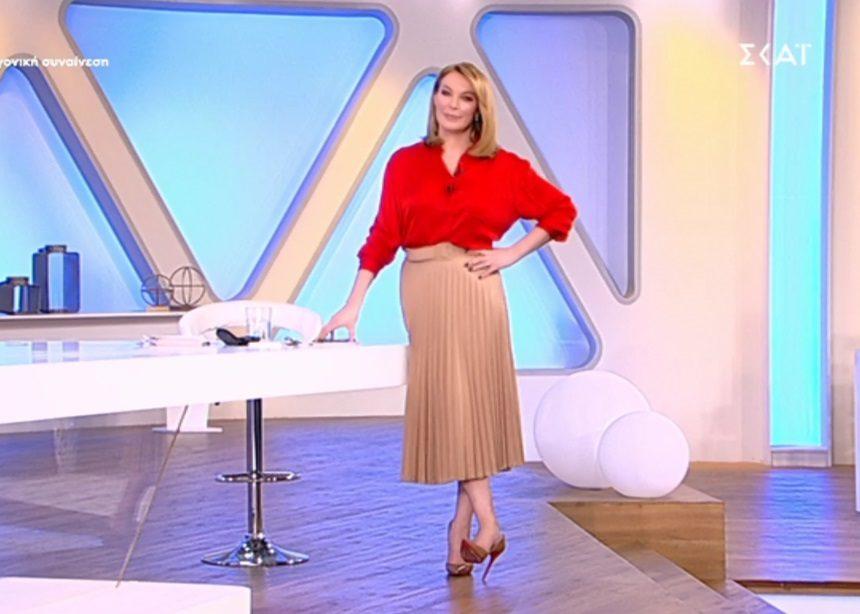 Όλες οι λεπτομέρειες για το look της Τατιάνας (21/02) | tlife.gr