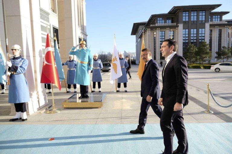 Συνάντηση Τσίπρα – Ερντογάν στο Λευκό Παλάτι | tlife.gr