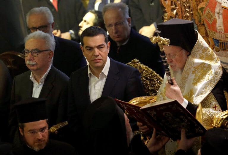 Ιστορική επίσκεψη! Εφτασε ο πρωθυπουργός Αλέξης Τσίπρας στην Χάλκη! | tlife.gr