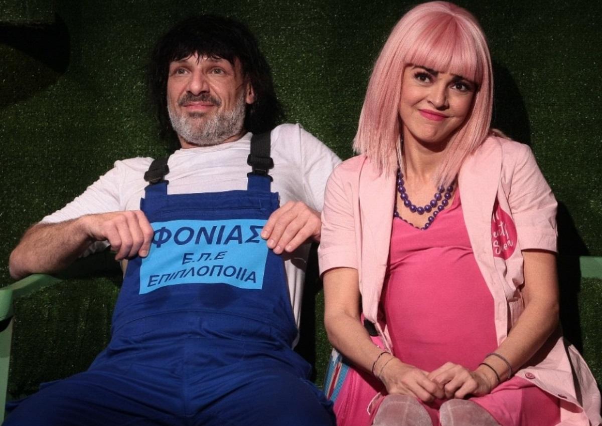Η Μαρία Σολωμού περιγράφει καρέ-καρέ τι συνέβη με τον Νίκο Μουτσινά και διεκόπη η παράσταση «Βερβερίτσα»! (video) | tlife.gr