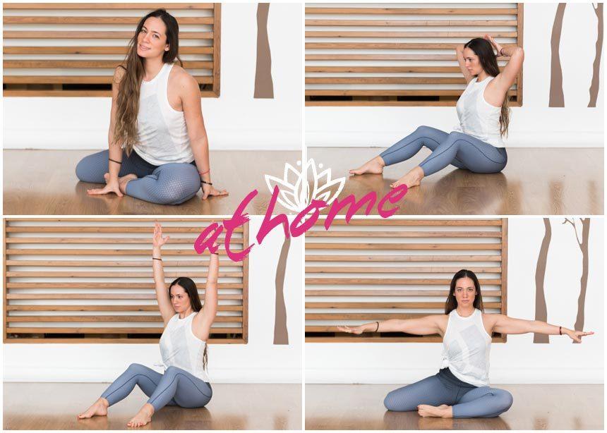 Γυμναστική στο σπίτι: Εύκολες ασκήσεις για να αποκτήσεις σωστή στάση σώματος | tlife.gr