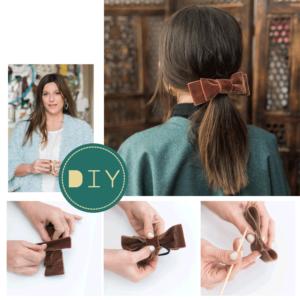 Η Πόπη Αναστούλη σου δείχνει βήμα – βήμα πως να φτιάξεις ένα αξεσουάρ για τα μαλλιά με φιόγκο!