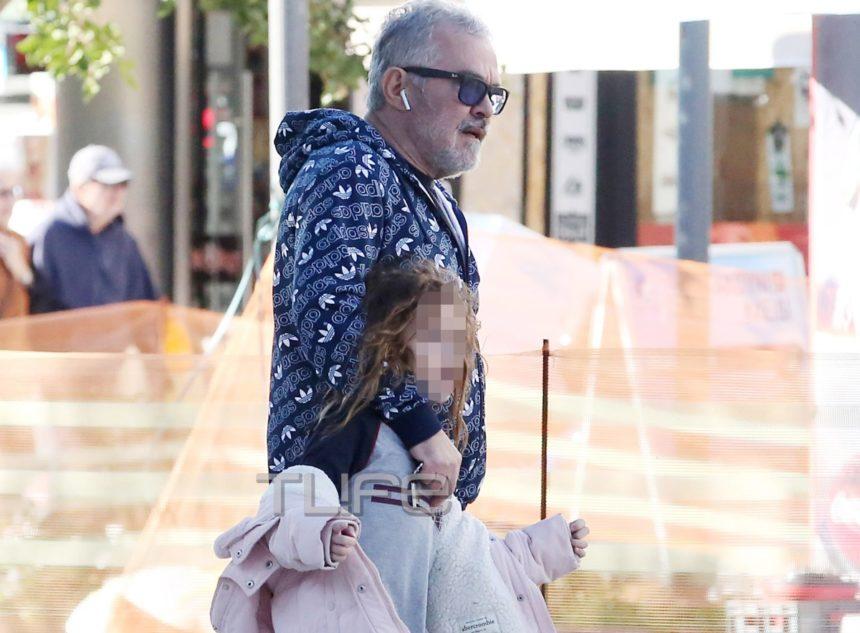 Γιώργος Λύρας: Βόλτα στην Γλυφάδα μαζί με την 7,5 ετών κόρη του, Ηλέκτρα [pics] | tlife.gr