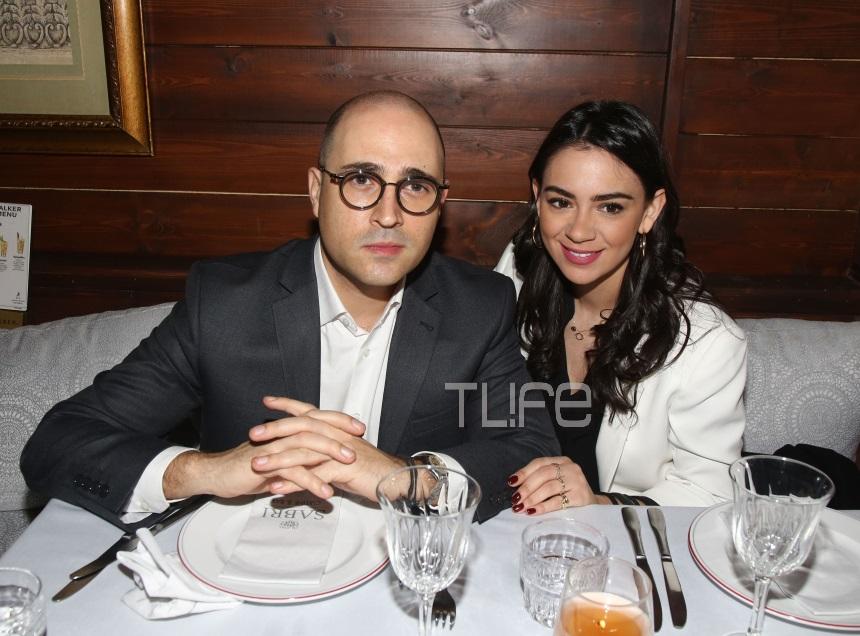 Κωνσταντίνος Μπογδάνος – Έλενα Καρβέλα: Ρομαντικό δείπνο για το ερωτευμένο ζευγάρι [pics]