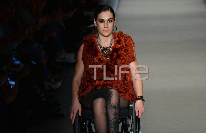 Η Γεωργία Κάλτση έλαμψε χθες στο fashion show του Δημήτρη Στρέπκου! Η συγκλονιστική ιστορία της! [pics,vid] | tlife.gr