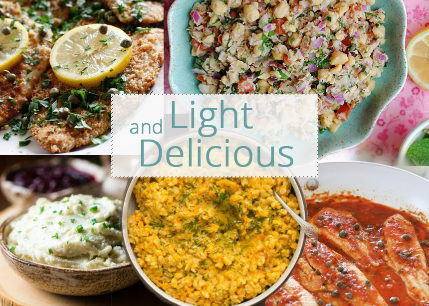 Light συνταγές για την 25η Μαρτίου με λιγότερο από 300 θερμίδες