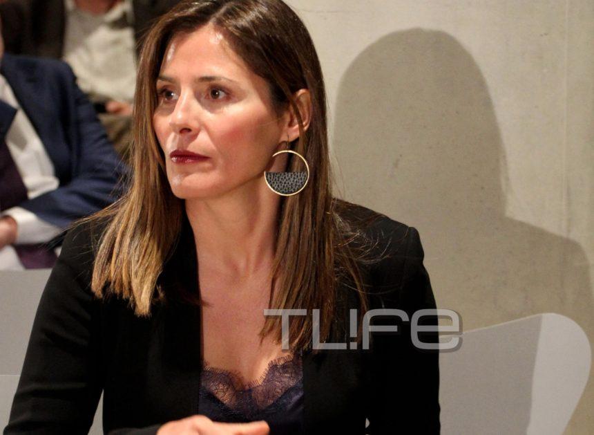 Μπέττυ Μπαζιάνα: Chic εμφάνιση σε διάλεξη στο «Σταύρος Νιάρχος» για το καλωσόρισμα του προέδρου της Βολιβίας Φωτογραφίες | tlife.gr