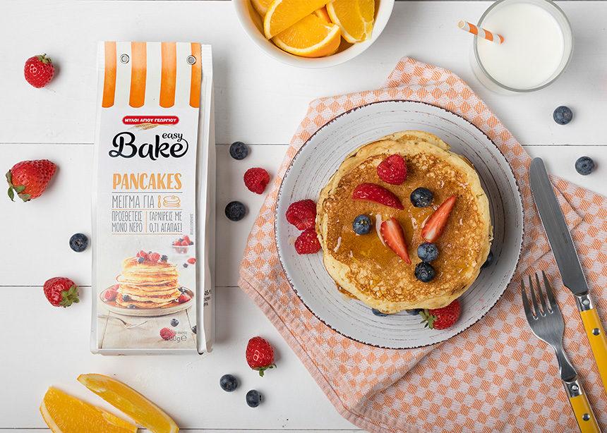 Κυριακή: Σήμερα έχει σπιτικά, λαχταριστά pancakes!!!   tlife.gr
