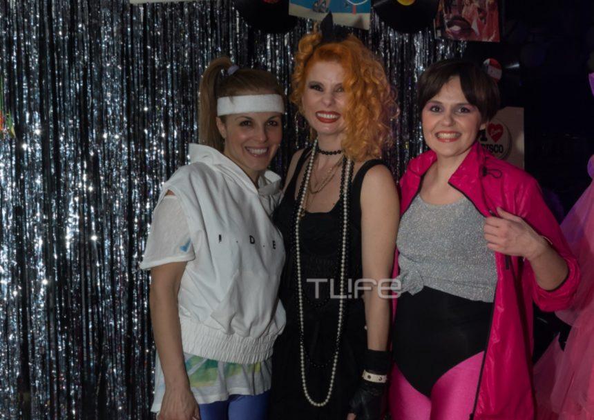 Άντζυ Ανδριτσοπούλου: Δες φωτογραφίες από το ξέφρενο 80s πάρτι που διοργάνωσε! | tlife.gr
