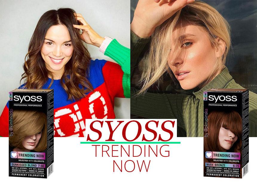 Οι μεγαλύτερες influencers του κόσμου συνεργάζονται με το SYOSS και δημιουργούν τις πιο stylish βαφές μαλλιών! | tlife.gr