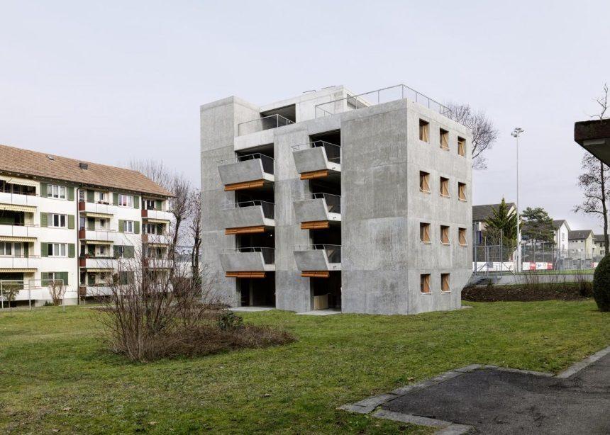 Ο low cost τσιμεντένιος μονόλιθος στην Ζυρίχη που εντυπωσιάζει με τον λειτουργισμό του | tlife.gr